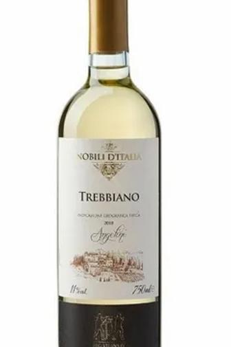 Vinho Branco Nobili D'Italia Trebbiano Angeline