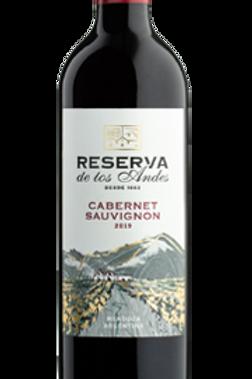 Vinho Tinto Reserva de Los Andes Cabernet Sauvignon Argentina