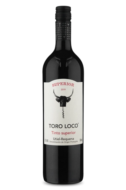 vinho tinto superior Toro Loco D.O.P. Utiel-Requena Tinto  2019