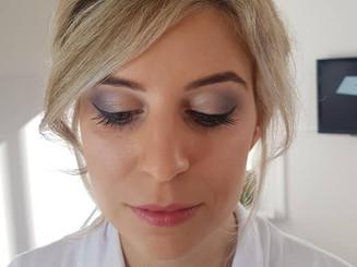 Beautiful bride Gemma ready for her wedding