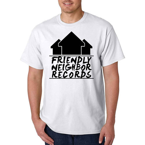 Friendly Neighbor Records - White T-Shirt