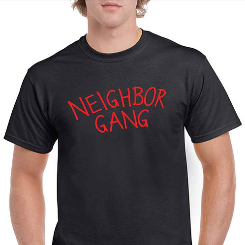 Neighbor Gang - Black T-Shirt