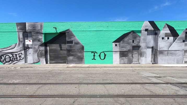 Understanding one of Massive Arts in California: Interview with Contemporary Mural Artist Matthew Fl