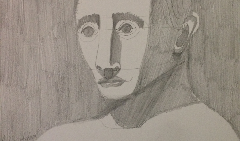 Portrait drawing 75