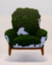 Chair Moss 100x72cm Oil on canvas 2019.j