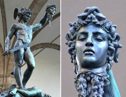 Perseus and Medusa VS Medusa and Perseus