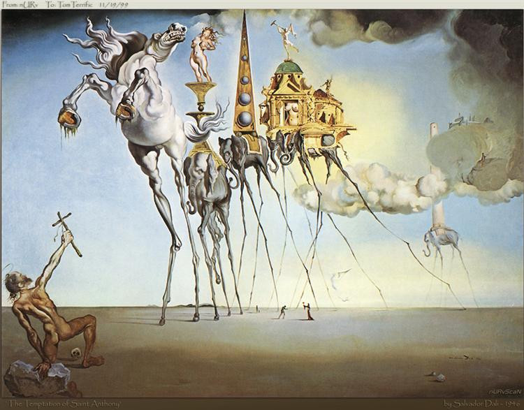 https://www.wikiart.org/en/salvador-dali/the-temptation-of-st-anthony