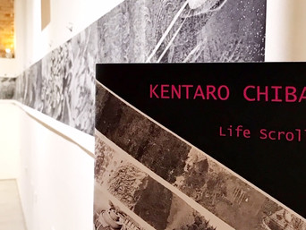 Life Scroll by Kentaro Chiba at the Alessandro Berni Gallery in Perugia