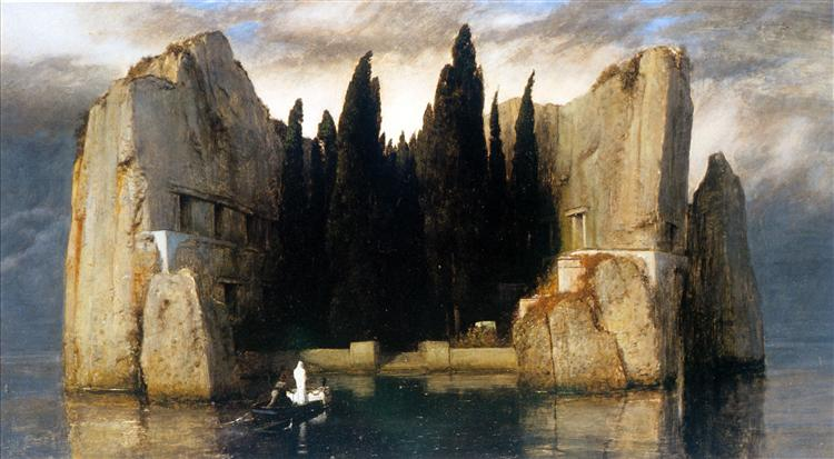 Isle of the Dead, 1883, Public Domain, Alte Nationalgalerie, Berlin, Germany