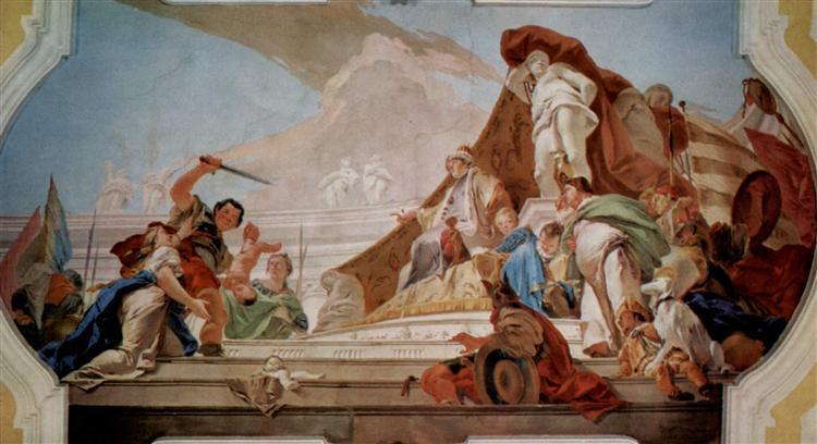 Credits: www.wikiart.org/en/giovanni-battista-tiepolo/the-judgment-of-solomon-1728