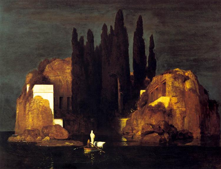 Isle of the Dead, 1880, Public Domain,  Kunstmuseum Basel, Basel, Switzerland