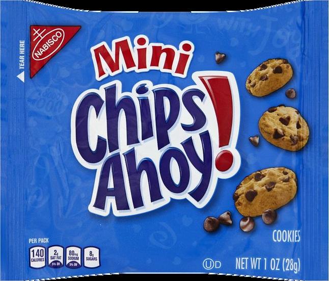 Mini Chips Ahoy! 1oz