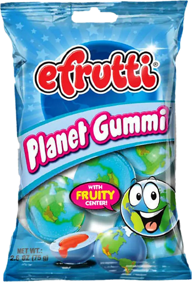 Efftuti Planet Gummi 2.6oz
