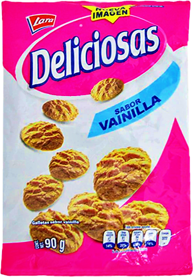 Galletas Lara Deliciosas 90g