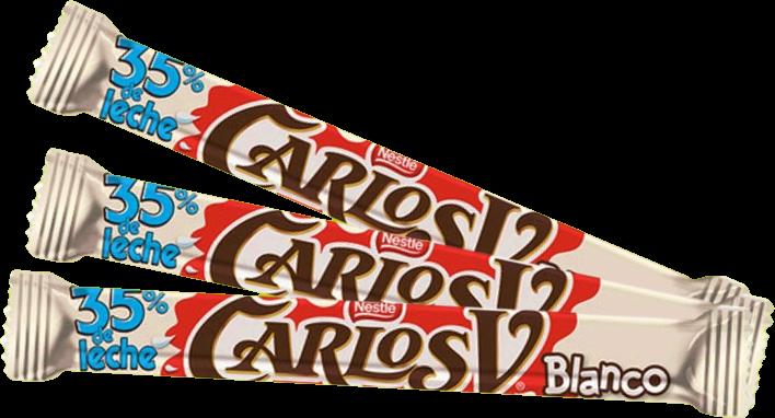 Carlos V Sticks White Chocolate 8g (3 count)