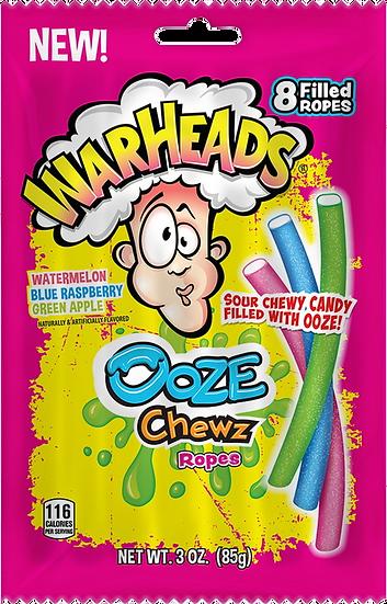 Warheads Ooze Chewz Ropes 3oz