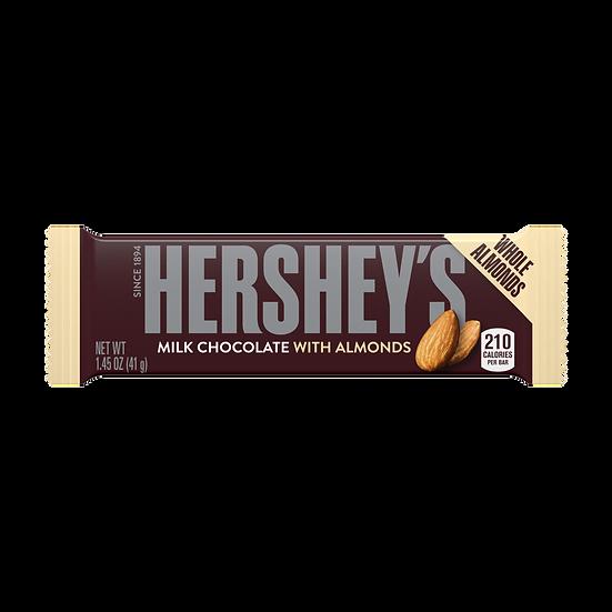Hershey's Milk Chocolate with Almonds Bar 1.45oz