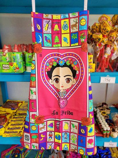 Frida Loteria Apron