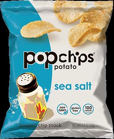 Pop Chips Sea Salt 0.8oz