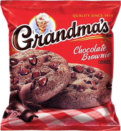 Grandma's Chocolate Brownie Cookies 2.5oz