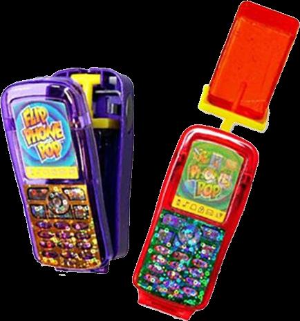 Flip Phone Pop Kids Mania 30g
