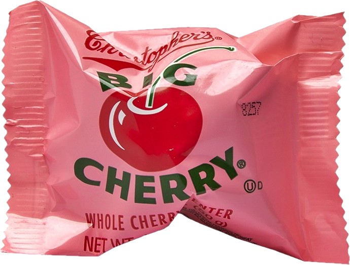 Christopher's Big Cherry Candy 50g