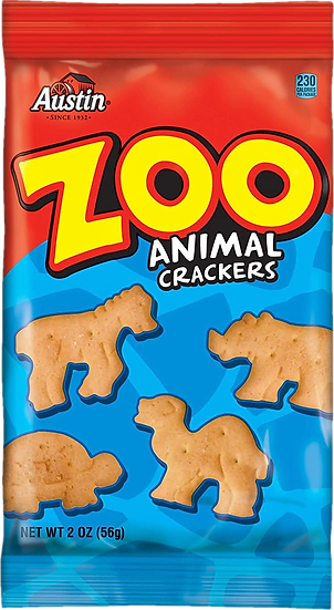 Austin Zoo Animal Crackers 2oz