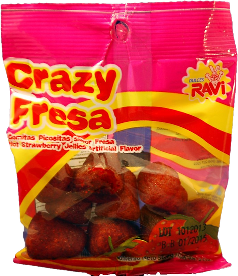Ravi Crazy Fresa 2oz