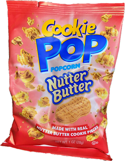 Cookie Pop Nutter Butter 1oz