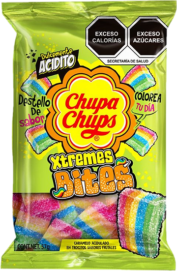 Chupa Chups Xtreme Bites 57g