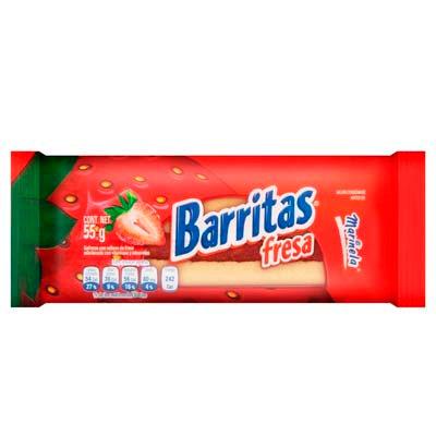 Barritas Strawberry 55g