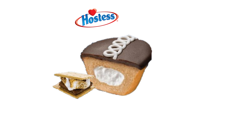 Hostess S'mores Cup Cake