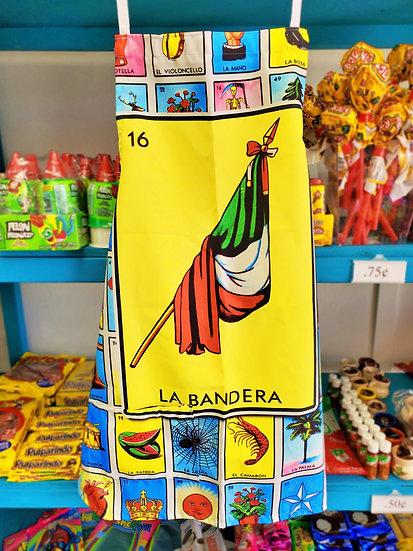 Loteria Apron La Bandera