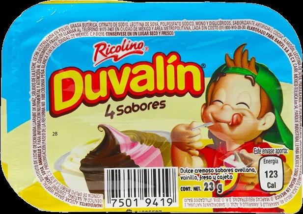 Duvalin 4 Sabores 23g