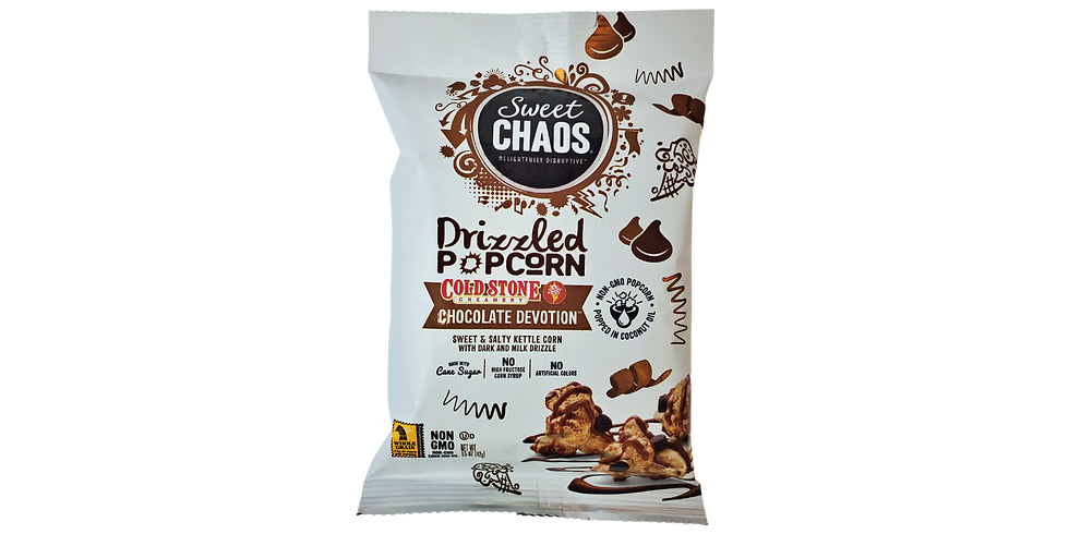 Sweet Chaos Chocolate Devotion Popcorn 1.5oz png