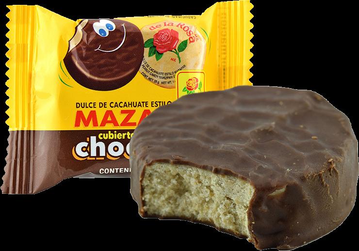 Mazapan Chocolate Covered