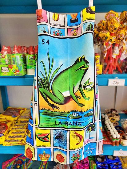 Loteria Apron La Rana