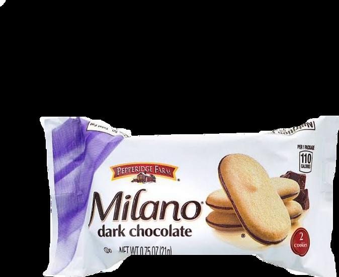 Milano Dark Chocolate Cookie 0.75oz