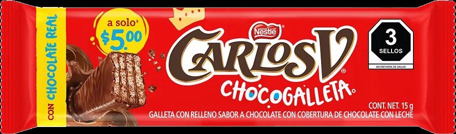 Carlos V Chocogalleta 15g