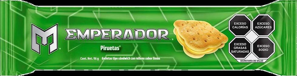 Emperador Piruetas (Lemon) Cookie 91g