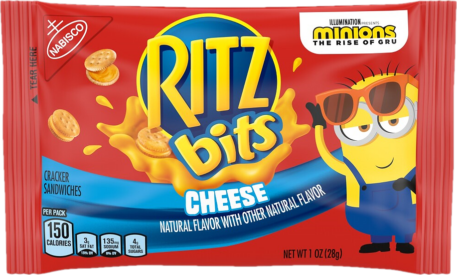 Mini Ritz bitz Cheese 1oz