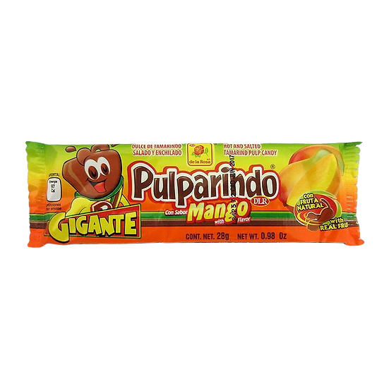 Pulparindo Gigante Mango 28g
