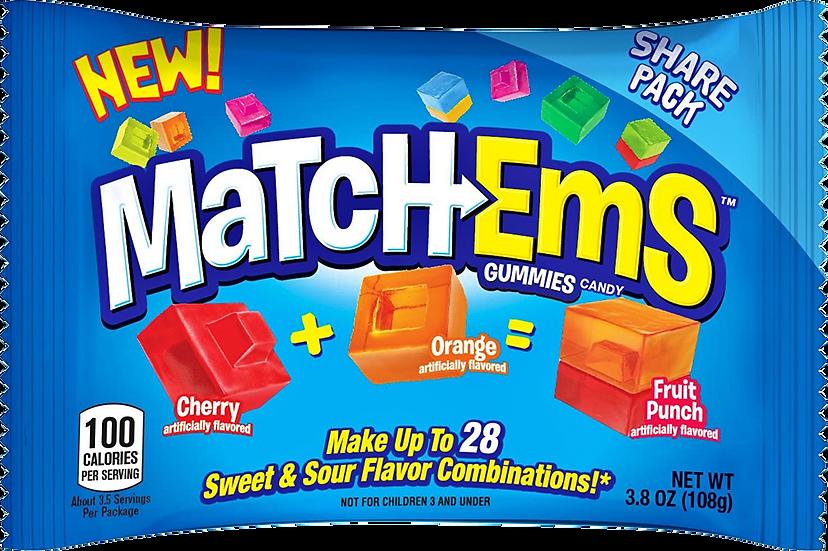 Match-Ems Gummies 3.8oz