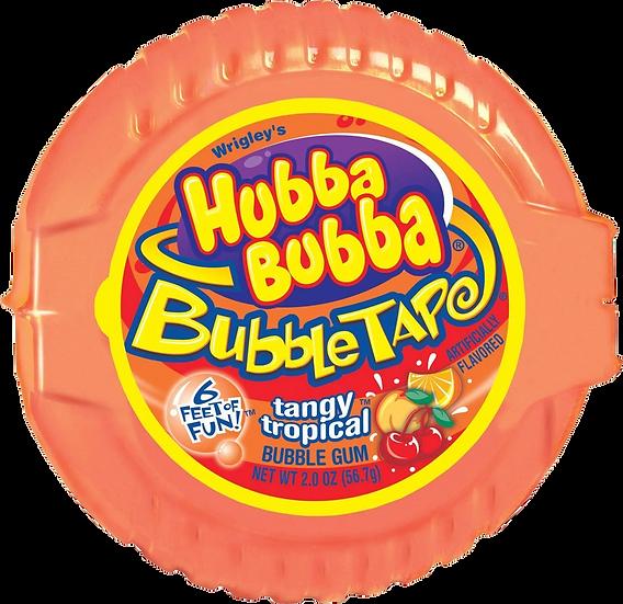 Hubba Bubba Tape Tangy Tropical 2oz