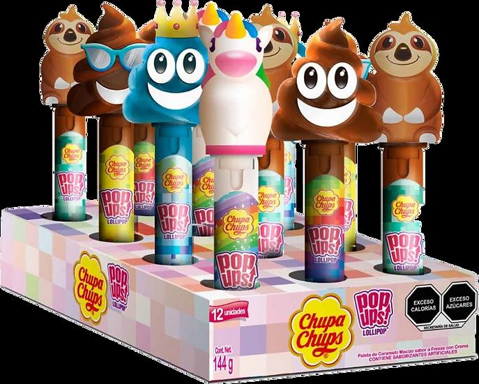Chupa Chups Pop Ups! Lollipop 12g Each