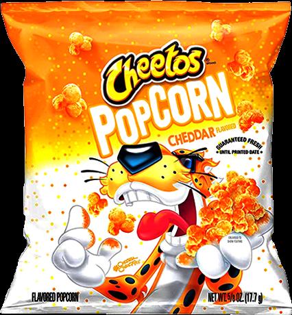 Cheetos Popcorn Cheddar 17.7g