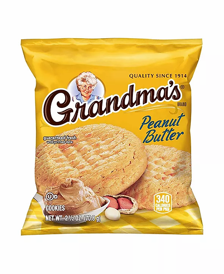 Grandma's Peanut Butter Cookie 2.5oz