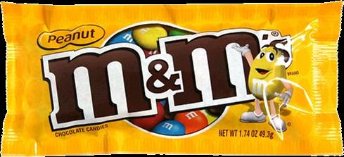 M&M'S Peanut Chocolate Candy 1.74oz