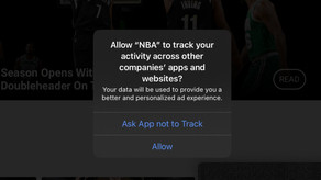 Apple puts pressure on Google and Facebook with the App Tracking Transparency (ATT)