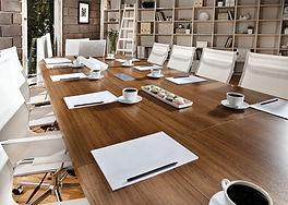 Konferenztisch, Organisation